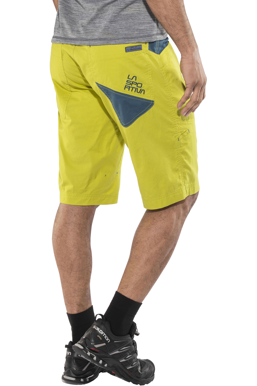 02f6c12fd7d8 La Sportiva Bleauser - Shorts Homme - jaune sur CAMPZ !